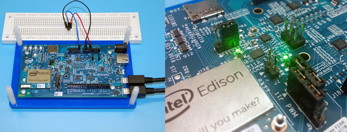 Wiring the Internet of Things with Intel Edison and Node-REDより抜粋