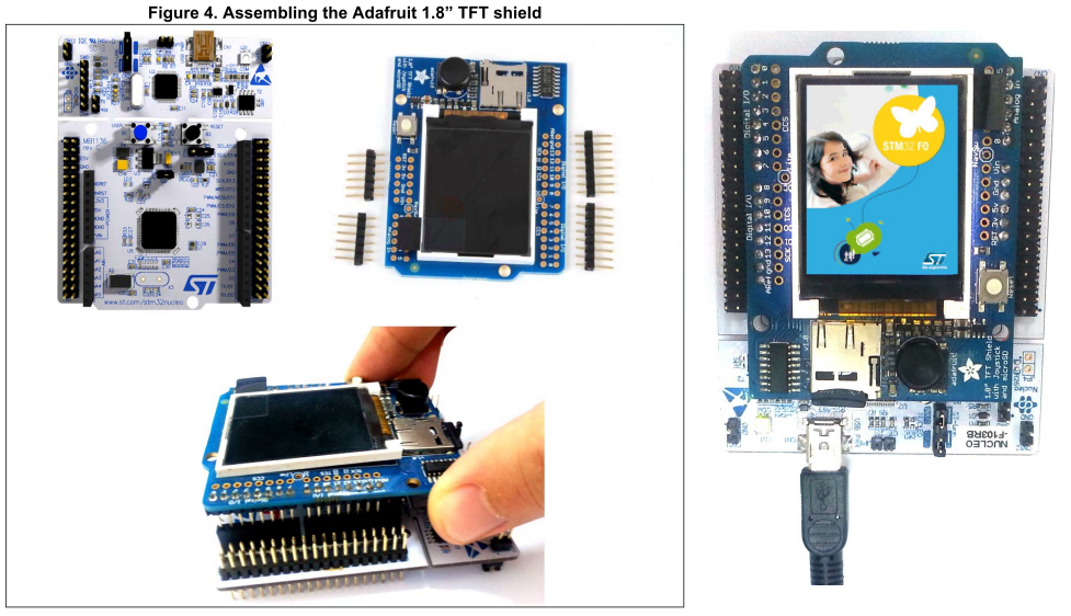 "Adafruit 1.8"" TFT shield"