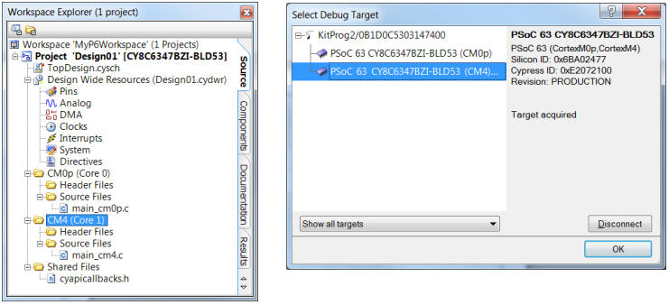 Cypress PSoC Creator 4.2 for PSoC 6 (Source, Creator Release Notes)