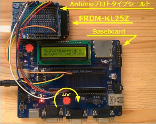 ベアメタル開発IoT Baseboardテンプレート(評価ボードはFRDM-KL25Z、これがLPCXpresso54114に変る)