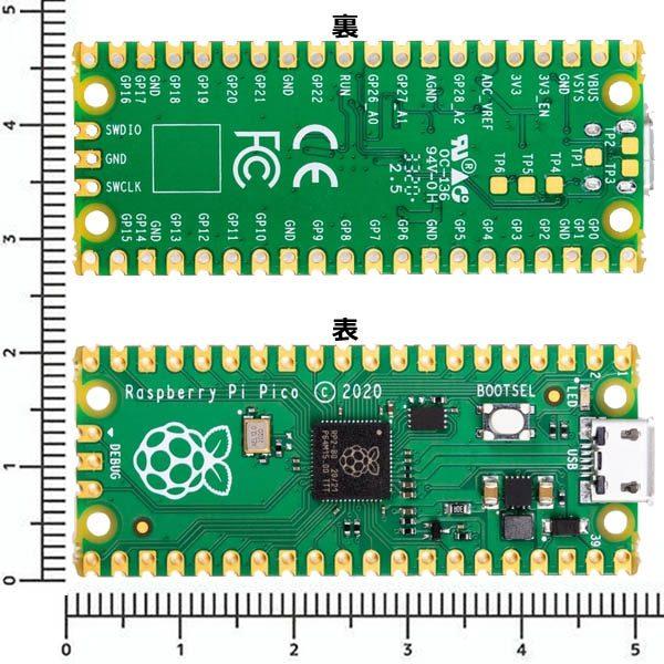 MCU評価ボードの制御系のみを小さくPCB化するイメージ(出展:マルツ超小型なRaspberry Pi)