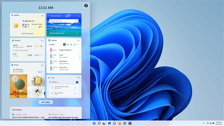 Windows11の新GUI